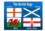 English Worksheet: British flags