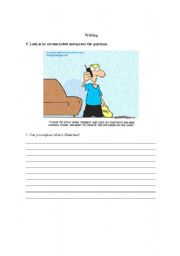 English Worksheet: Writing - means of communication