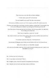 English Worksheets: ezop