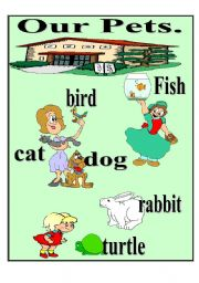 English Worksheets: Our pets