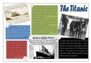 English Worksheets: The Titanic
