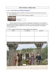 Narnia webquest