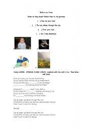 English Worksheet: Eternal Flame