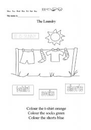 the laundry esl worksheet by. Black Bedroom Furniture Sets. Home Design Ideas