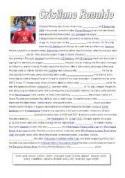 Cristiano Ronaldo, fill in