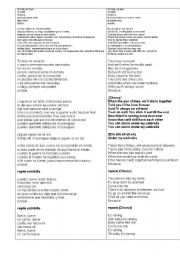 English Worksheets: umbrella
