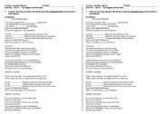English Worksheets: Song - Everything by Alanis Morissette