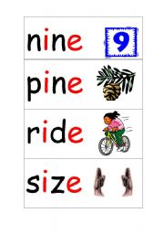 Long vowels and silent e worksheets to print long a, long i, long ...