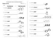 English Worksheets: SHORT ANSWER