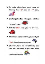 English Worksheets: animal uno (3}