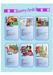 Country Cards 8