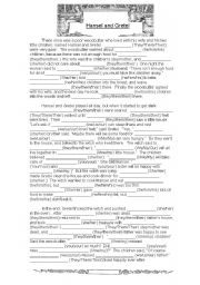 graphic relating to Funny Fill in the Blank Stories Printable called English worksheets: tale worksheets, site 57