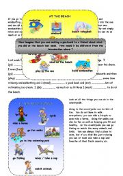English worksheet: Holidays - Past Tense