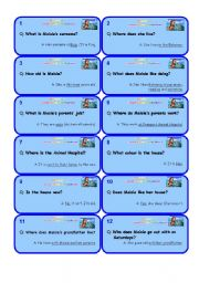 English Worksheets: Extensive reading �Maisie and the Dolphin� � set 1out of 8/9