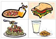 Dinner flash-cards