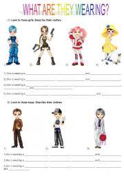 English Worksheet: Clothes part 1