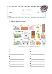English Worksheets: objects
