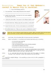 English Worksheets: Reported Speech_Practice