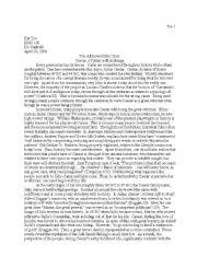English Worksheets: Julius