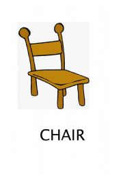 English worksheets chair for Chaise game free download