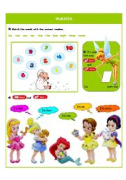 English Worksheets: Numbers
