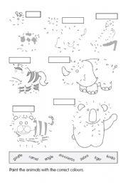 English Worksheets: Wild animls 2