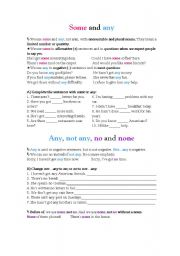 English Worksheets: Determiners