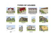 English Teaching Worksheets The House - Type of house for kids