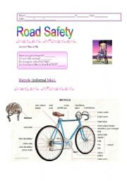 English Worksheets: Road  Safety