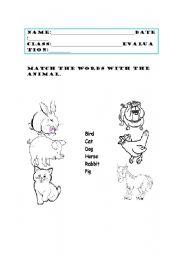 english worksheets domestic animals. Black Bedroom Furniture Sets. Home Design Ideas