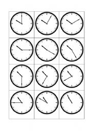 telling the time 10 o clock esl worksheet by kringlan. Black Bedroom Furniture Sets. Home Design Ideas