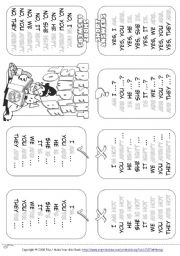 English Worksheet: My Mini Grammar Book