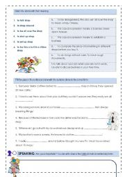 English Worksheets: shopping 4 skill lesson 2/2