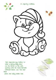 English Worksheets: Preschool colouring pages.