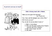 English worksheet: The possibilities are endless! (Using A5 size sheet)