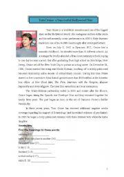 English Worksheets: Tom Cruise