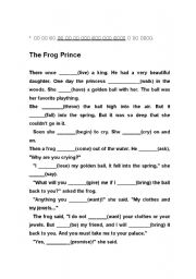 English Worksheets: Frog Prince