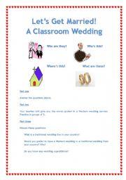 Classroom Wedding