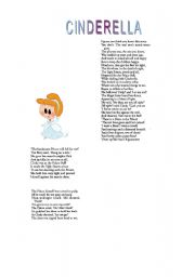 English Worksheets: Another fannier version of Chinderella