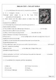 English worksheets: describing places worksheets, page 8