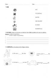 English Worksheets: Easy revision