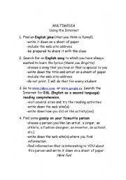 English Worksheets: multimedia 2