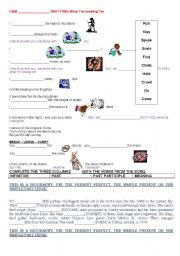English Worksheets: SONG BY U2