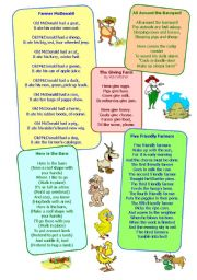 English Worksheet: LIFE IN THE COUNTRY (ON THE FARM) 2/2
