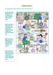 English Worksheets: Boy�s clothes and hair