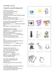 English Worksheet: Avril Lavigne - S8er Boy