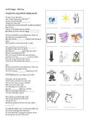 English Worksheets: Avril Lavigne - S8er Boy