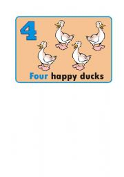 English Worksheets: Four
