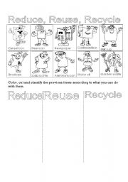 Recycling Worksheets - Get Recycling Worksheets For Kindergarten Free Pictures