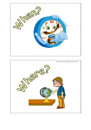 English Worksheets: WH words